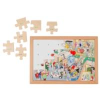 Mathematik Puzzle bis 20 - addition
