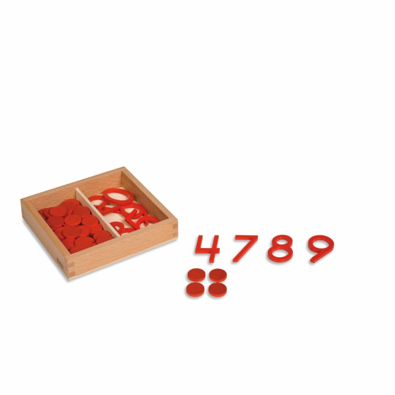 Cut-Out Numerals & Counters: US Version