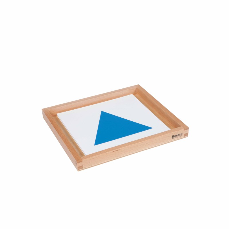 Geometric Form Cards For The Demonstration Tray