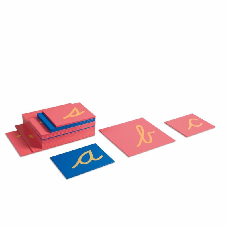 Sandpaper Letters: US Cursive