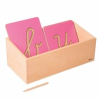 Hollow Letter Shapes Box
