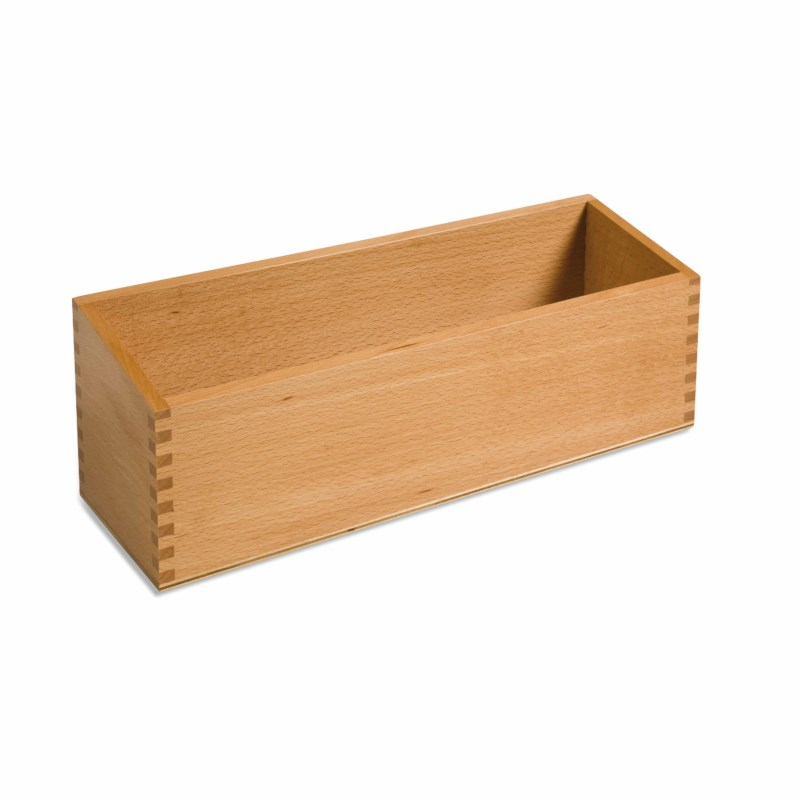 Double Sandpaper Letters Box