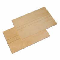 Wooden Boards: Set Of 2