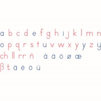 Large Movable Alphabet: International Print