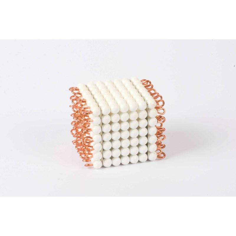 Individual Nylon Bead Cube Of 7: White