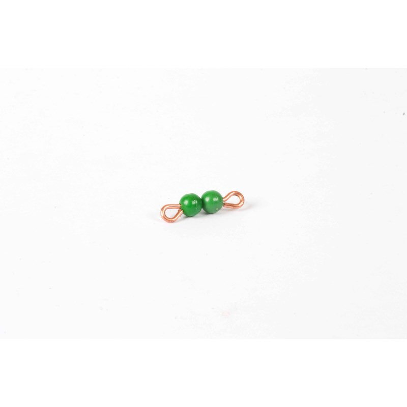 Individual Nylon Bead Bar Of 2 : Green