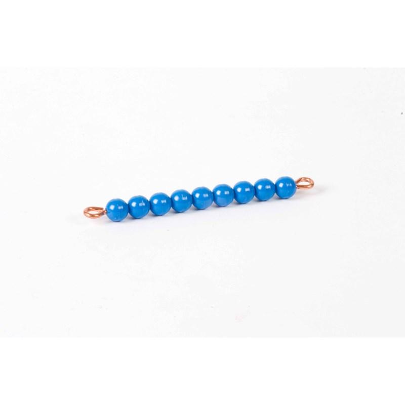 Individual Nylon Bead Bar Of 9 : Dark Blue