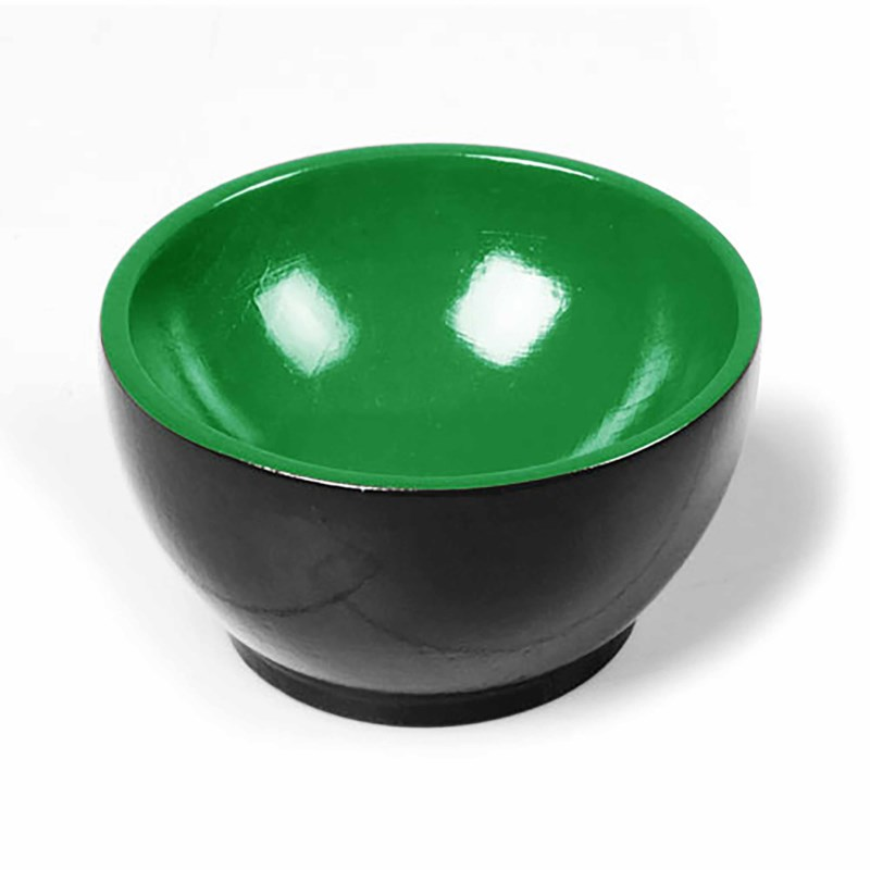 Wooden Cup: Black / Green