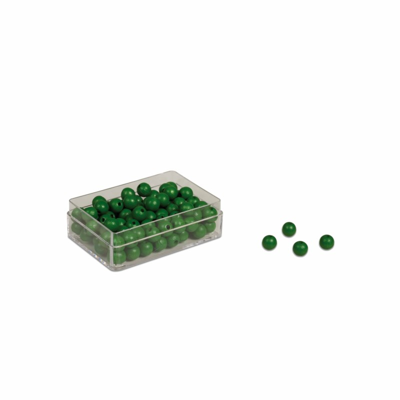 Green Beads: (100)