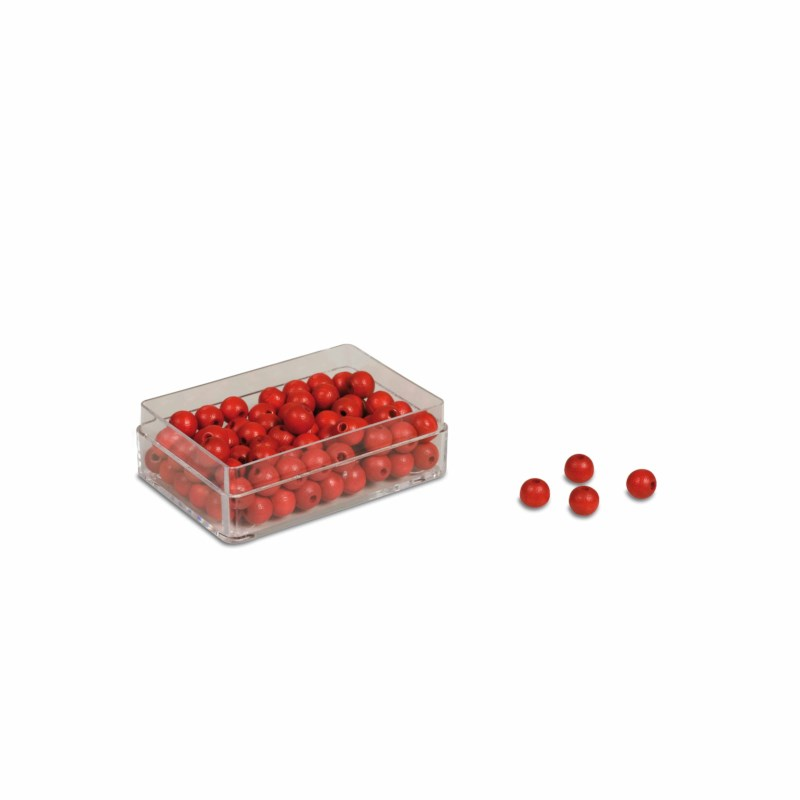 Beads: Red (100)
