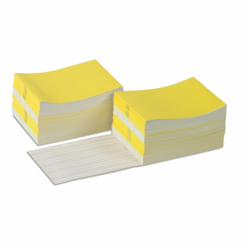 Writing Booklets: Yellow – Large (100)