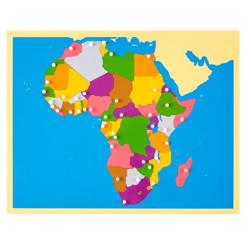 Puzzle Map: Africa | Nienhuis Montessori