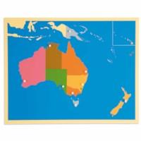 Puzzle Map: Australia