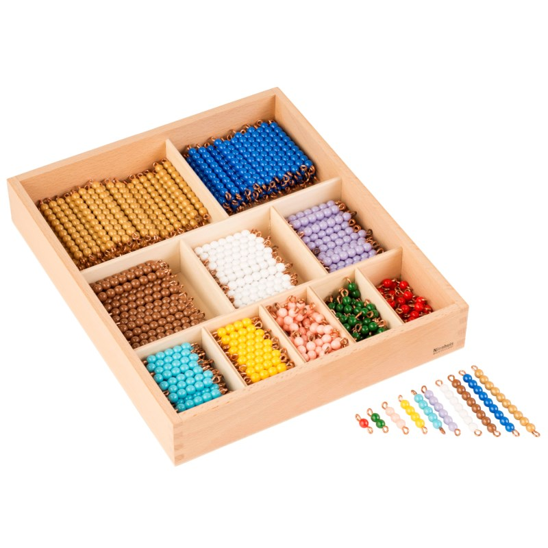 Decanomial Bead Bar Box: Individual Beads (Nylon)