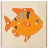 Animal Puzzle: Fish