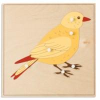 Animal Puzzle: Bird