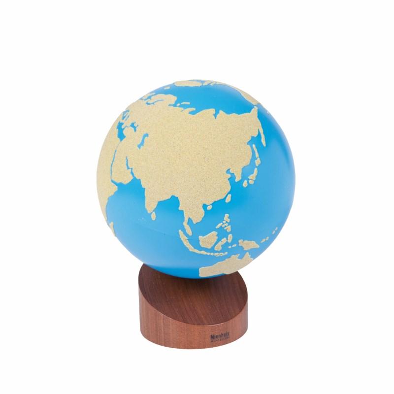 Globe Of Land & Water: Sandpaper