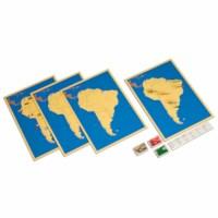 Four Maps Of South America
