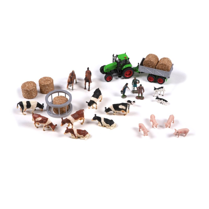 The Farm: Set Of Farm Animals