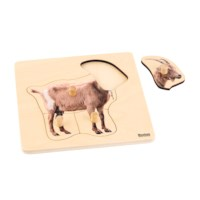 Toddler Puzzle: Goat