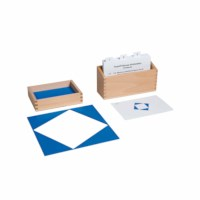 12 Identical Blue Triangles Activity Set