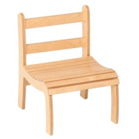 Slatted Chair: High