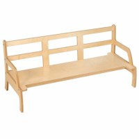 Toddler Bench: Adjustable Height