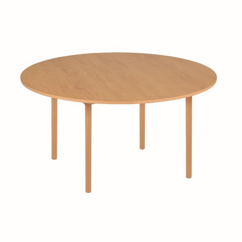 Group Table C3: Yellow - Round (115 x 59 cm)