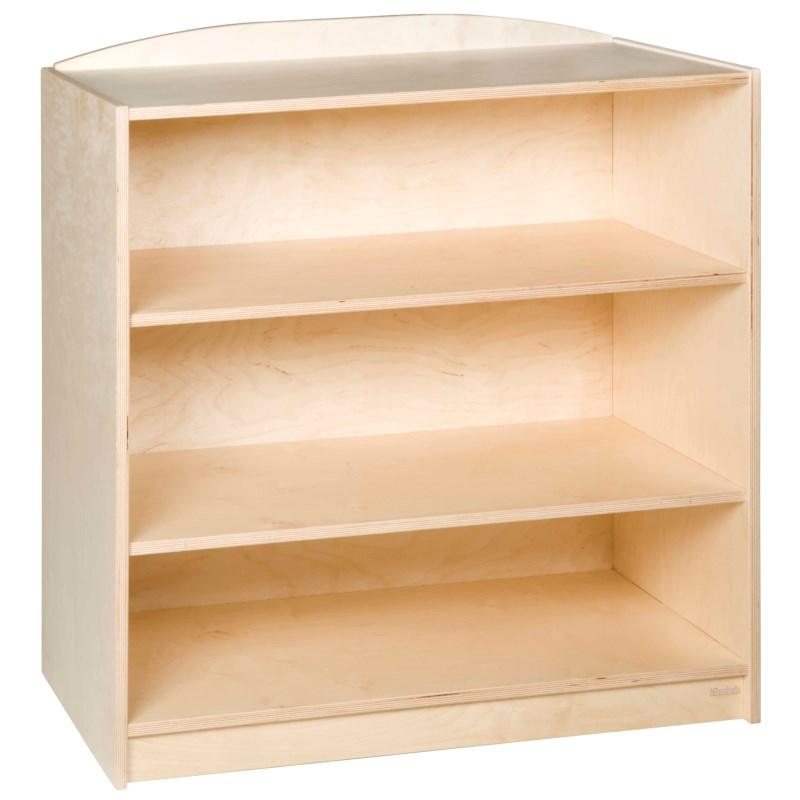 End Cabinet: 3 Straight Shelves (101 cm)