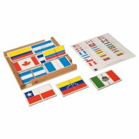Flag Puzzle Of The Americas