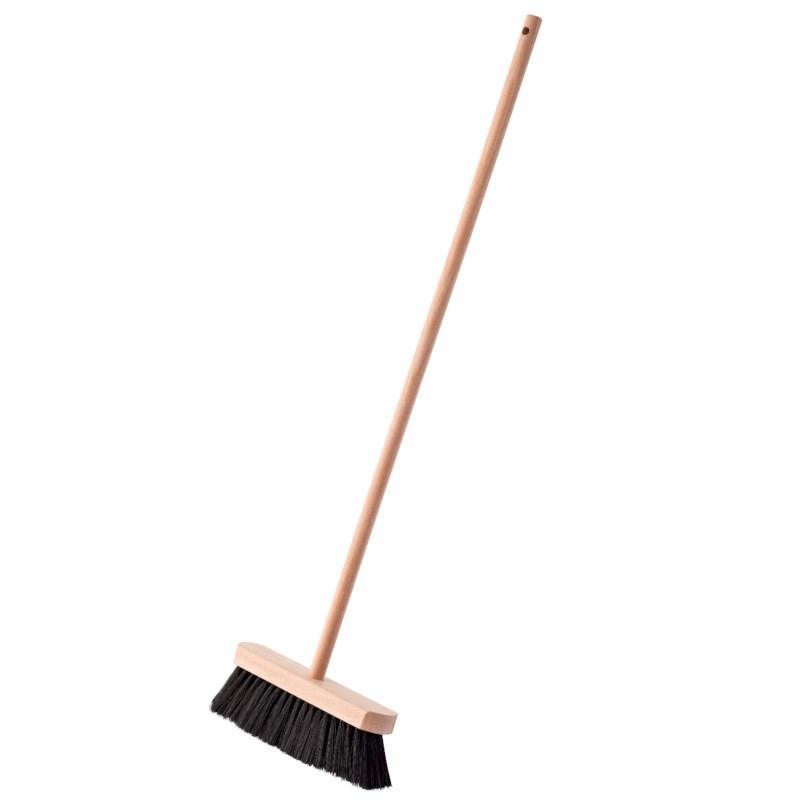 Indoor Broom: Soft Black