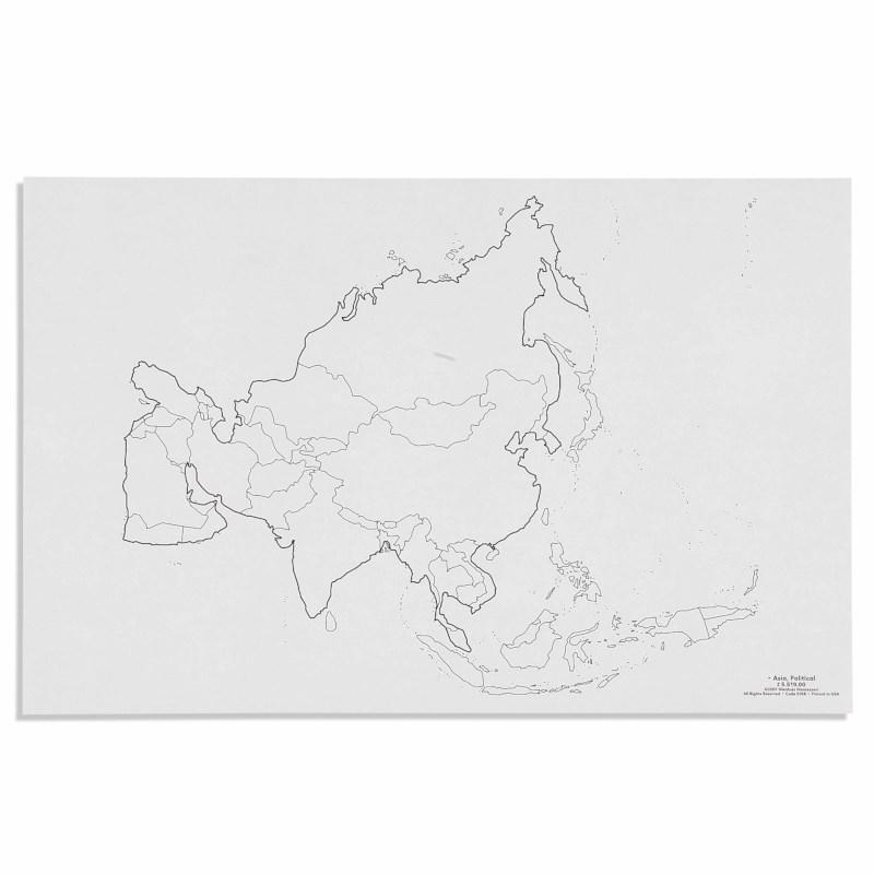 Asia: Political (50)