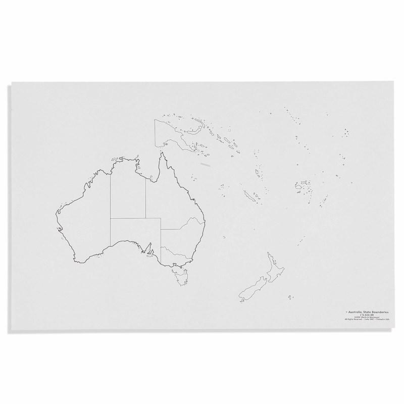 Australia: State Boundaries (50)