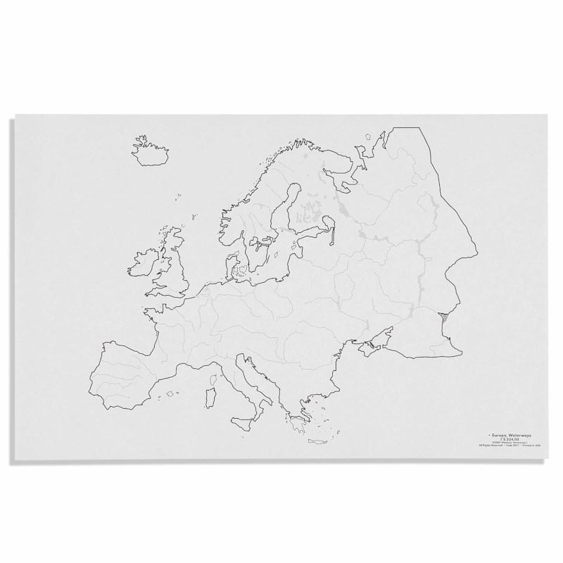 Europe: Waterways (50)