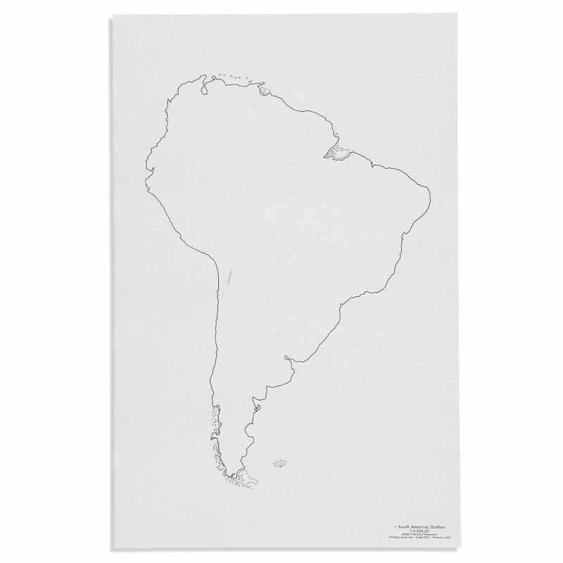 South America: Outline (50)