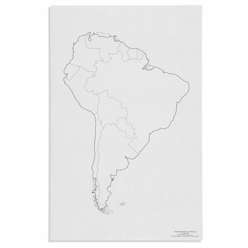 South America: Political (50)