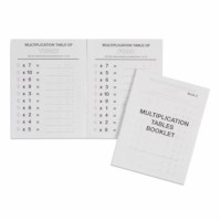 Multiplication Tables Booklet: 2