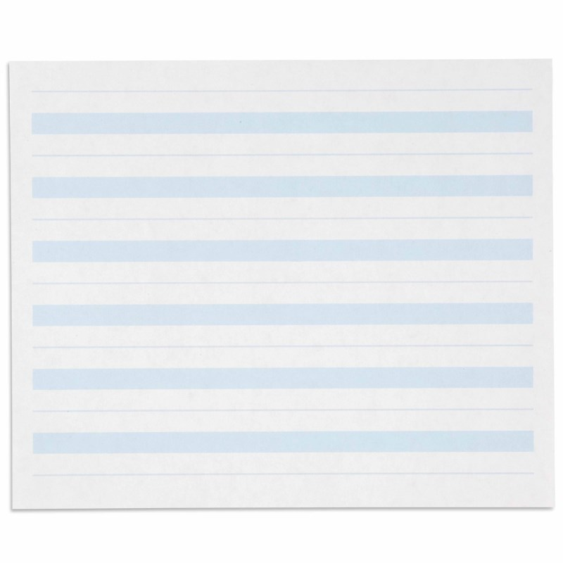 Writing Paper: Blue Lines – 7 x 8.5 in – (500)