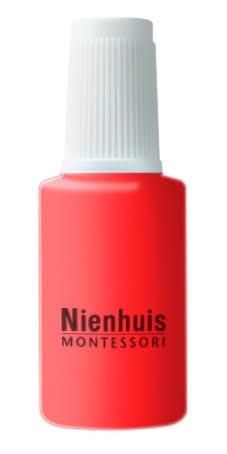 Bottle Of Repair Paint: Red