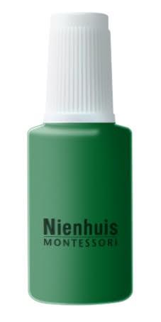 Bottle Of Repair Paint: Green