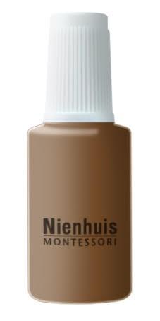 Bottle Of Repair Paint: Brown
