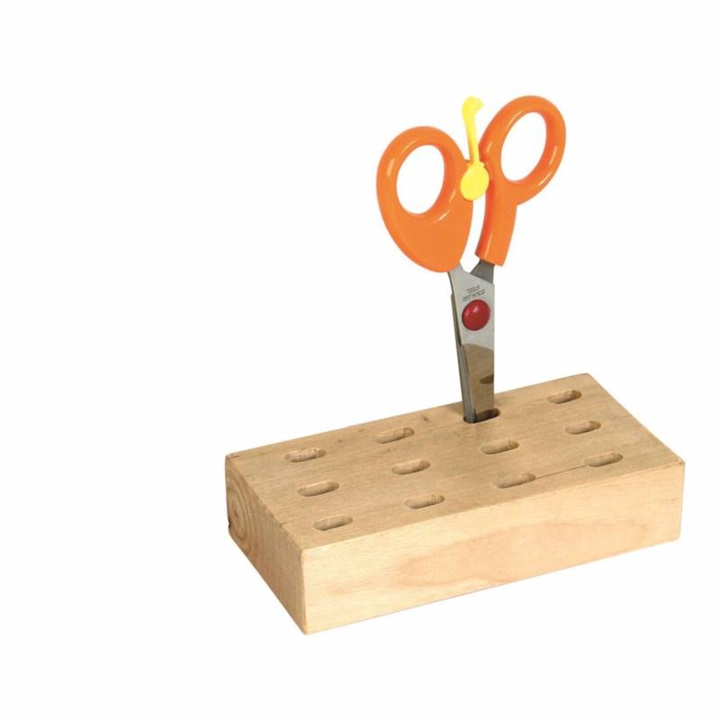 12 Hole Storage Block: For Scissors