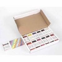 Long wax crayons (12)