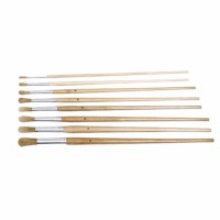 Paint brushes - Lyons - Round ferrule, long handled - Nr. 8