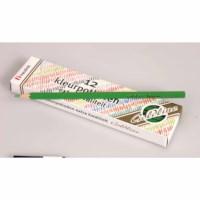 Crayons hexagonal Goldline - Heutink - Carton of 12 - Light green