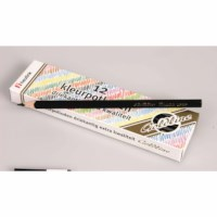 Crayons triangular Goldline - Heutink - Carton of 12 - Black