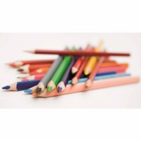 Crayons triangular Goldline - Heutink - Can of 12 - Assorted colours