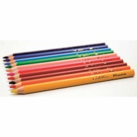 Jumbo Crayons triangular Goldline - Heutink - Carton of 12 - Assorted colours