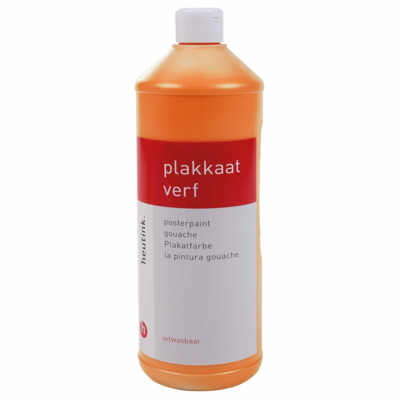 Interpaint - 1 Litre bottle - Orange