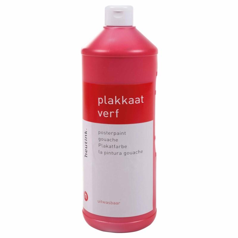 Interpaint - 1 Litre bottle - Light red